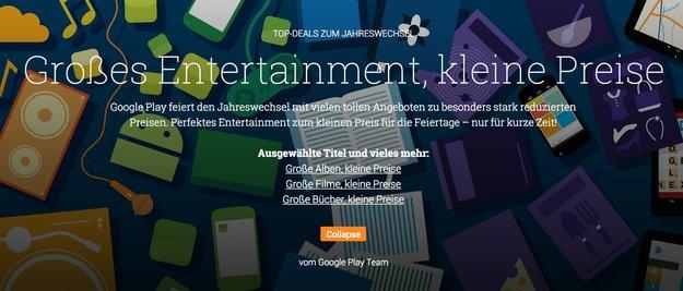 Play Music- & Play Books-Aktion: Bücher und Musikalben im Angebot —Nirvana, Dan Brown, uvm.