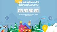 Google Santatracker 2013: Minispiele und Videos am laufenden Band