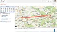 Google-Standortverlauf anzeigen und löschen: Tool zeigt, wo man gewesen ist