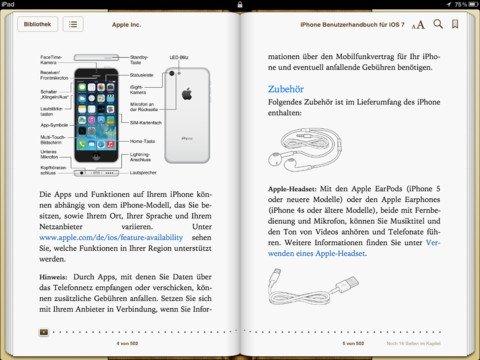 iphone handbuch zu ios 7 kostenloser download der bedienungsanleitung giga. Black Bedroom Furniture Sets. Home Design Ideas