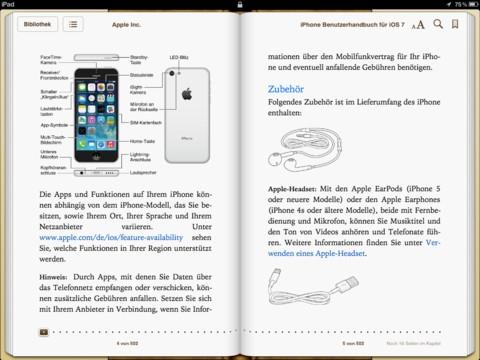 Bedienungsanleitung Iphone S Kurzfassung
