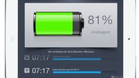 Akkulaufzeit des iPads verlängern – die wichtigsten Akku-Tipps