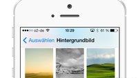 Hintergrundbild für iPhone-Homescreen und Sperrbildschirm verändern (Tutorial)