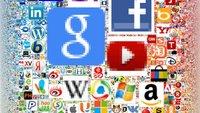 Icons Of The Web: Interaktive Grafik zeigt die größten Webseiten