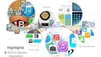 Infografik: Das Apple-Jahr 2013 im Überblick