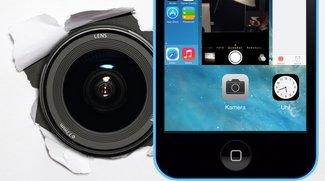 iOS 7: Foto aus der Multitasking-Ansicht heraus aufnehmen (Mini-Tipp)