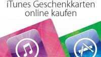 iTunes Karten online kaufen im Paypal Digital Gifts Store