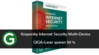 Exklusiv für GIGA-Leser: Kaspersky Internet Security Multi-Device 30 % günstiger dank Gutschein
