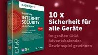 10 x Kaspersky Internet Security – Multi-Device für 3 Geräte im Wert von je 59,95 Euro