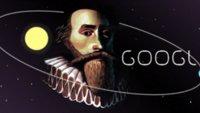 Google Doodle: Johannes Kepler wird von Google geehrt