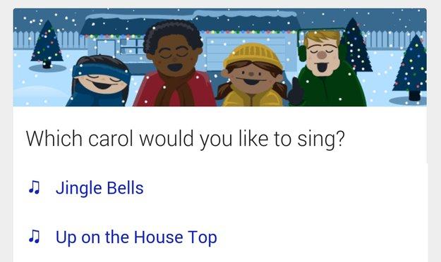 """""""Let's go Caroling"""": Easter-Egg in Google-Suche bringt Weihnachtslieder als Karaoke-Version"""