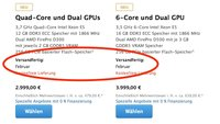 Mac-Pro-Lieferengpass: Macht Apple denselben Fehler wie letztes Jahr beim iMac?