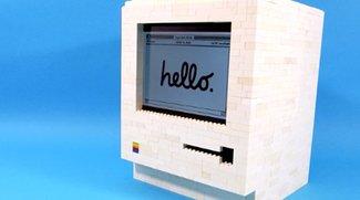 Lego-Macintosh von 1984 als iPad-Ständer
