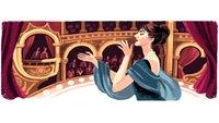 Maria Callas: Google Doodle zum 90. Geburtstag der Opernsängerin