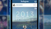 Jahrsrückblick 2013 für Instagram mit Statigram (Tipp)