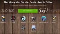 The Merry Mac Bundle: 8 Musik- und Video-Apps für 25 € (90 % Ersparnis)