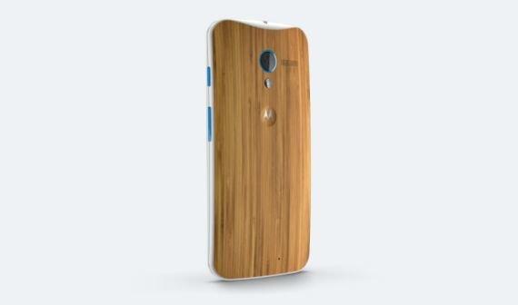Motorola liefert Moto X mit Bambus-Finish aus
