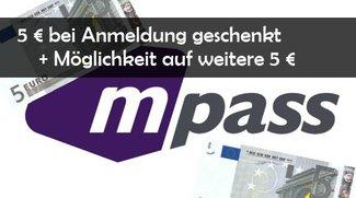 5 € Guthaben bei mpass geschenkt: Kostenlose Kreditkarte & Bezahlen mit dem Handy