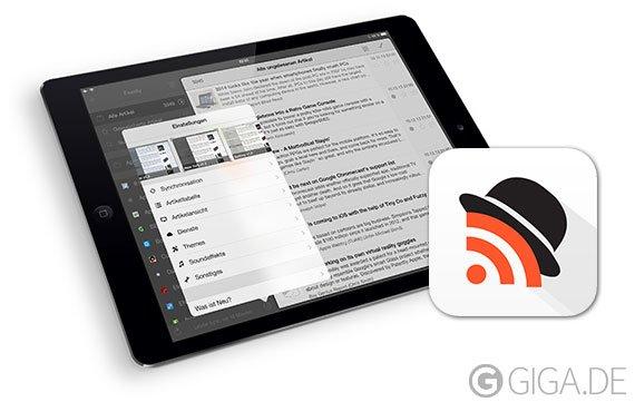 Mr. Reader: Deutscher RSS-Reader in neuer Version 3.0 für iOS 7