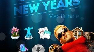 Mac Apps im Angebot: New Year's Mac Bundle (9 Apps) für 11 €, PhotoDirect Ultra für 36 €, Duke Nukem Forever für 4 €
