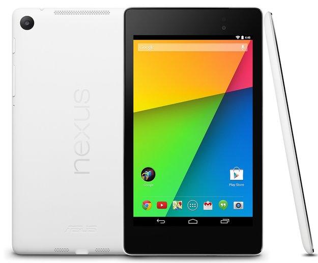Nexus 7 (2013): Weißes Modell im Play Store – noch nicht in Deutschland
