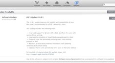 OS X Mavericks: Apple veröffentlicht Update 10.9.1