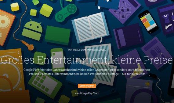 Play Store: Viele Apps, In-Game Käufe, Filme, Bücher und Musik derzeit viel günstiger