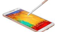 Samsung Galaxy Note 3: Rote und goldene Version kommen 2014