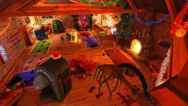 Viscera Cleanup Detail: Putz-Simulation bekommt weihnachtliches Metzel-Szenario