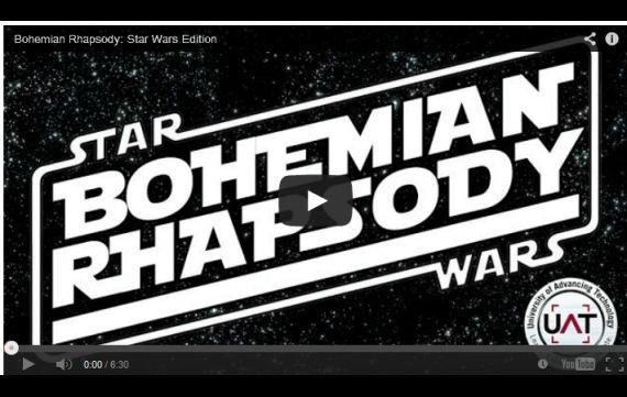 Queen meets Jabba: Bohemian Rhapsody als Star Wars-Version