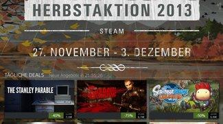 Steam Herbstaktion 2013: Neue Angebotswelle für den 03. Dezember