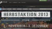 Steam Herbstaktion 2013: Die Angebote am 02. Dezember