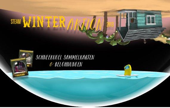 Steam Winter Aktion 2013: Jeden Tag neue Angebote, Sammelkarten und Belohnungen