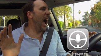Video des Tages: Steeri, das Chaos-Siri fürs Auto [Parodie]