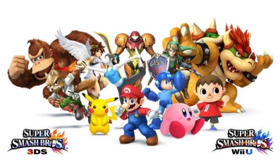 Super Smash Bros. 3DS & Wii U