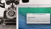 Sipgate am Mac: Kostenlose App und Festnetznummer zum Telefonieren (Tipp)