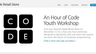 The Hour of Code: Apple mit kostenlosem Coding-Workshop für Kinder in den USA