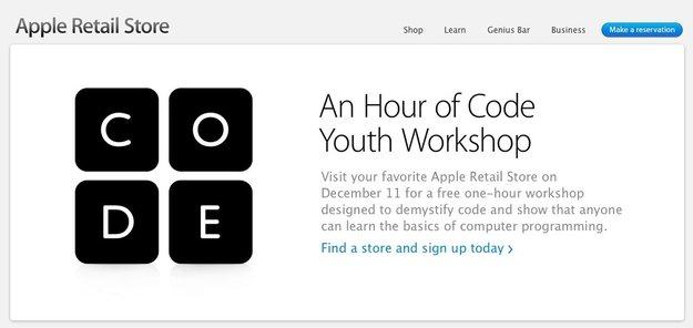 The Hour of Code: Apple mit kostenlosem Coding-Workshop für Kinder in den USA