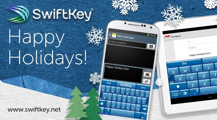 SwiftKey Winter Theme
