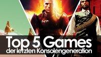 Gespielt, geliebt, gelitten: Unsere Top 5 Games der letzten Generation