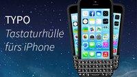 iPhone-Hülle mit Tastatur: TYPO verspricht 40% mehr Display