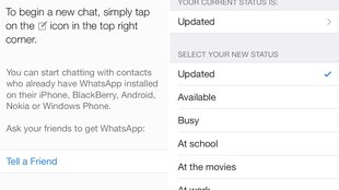 WhatsApp: Neue Version bringt iOS-7-Design