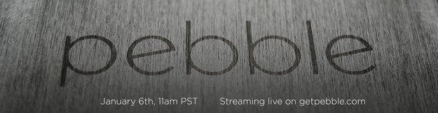 """Pebble: Smartwatch-Hersteller kündigt """"etwas Besonderes"""" an"""