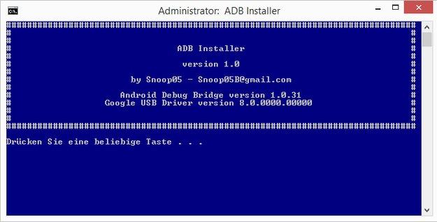 15 Seconds ADB: ADB, Fastboot und Treiber für Windows in handlichem Paket