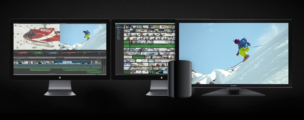 4K-Display am Mac Pro