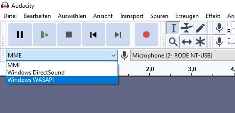 Audiohost WASAPI