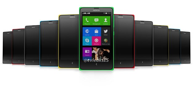 Nokia Normandy - Android-Smartphone könnte Nokia X heißen