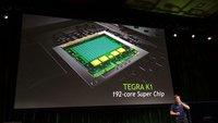 CES 2014: NVIDIA stellt wahnsinnigen Prozessor K1 mit 192 Kernen vor