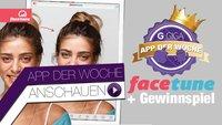 Facetune - GIGA FOTO APP der Woche + Gewinnspiel!