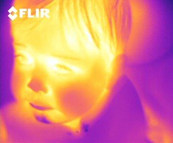 FLIR ONE - Aufnahme